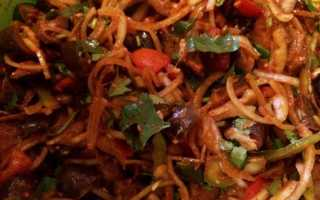 Кади-хе из баклажанов по-корейски – рецепт пошаговый с фото