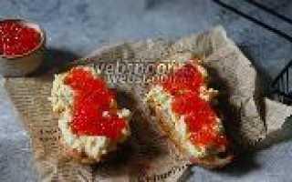 Бутерброды Пукюпса – рецепт пошаговый с фото