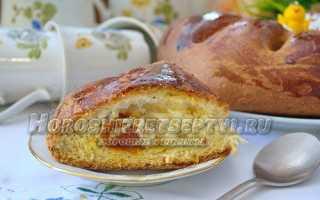 Калач с сухофруктами – рецепт пошаговый с фото