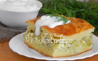 Заливной пирог с капустой в духовке – рецепт пошаговый с фото