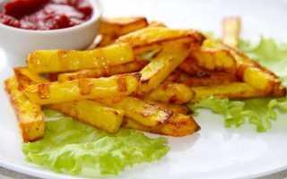 Картофель фри с пикантным соусом – рецепт пошаговый с фото
