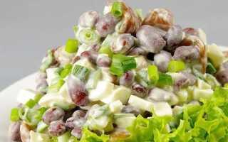 Салат с белой фасолью и помидорами – рецепт пошаговый с фото