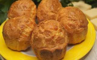 Сырные маффины – рецепт пошаговый с фото