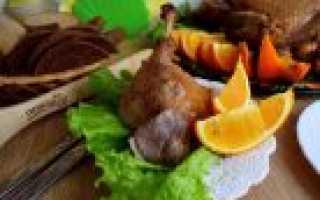 Утка запечённая в духовке – рецепт пошаговый с фото