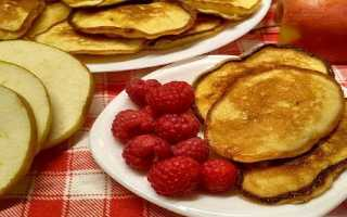 Фруктовые оладьи на кефире – рецепт пошаговый с фото