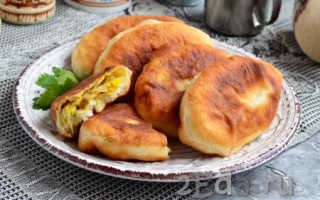 Жареные пирожки с капустой по-домашнему – рецепт пошаговый с фото