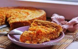 Диетический тыквенный пирог – рецепт пошаговый с фото