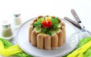 Салат картофельный с соленым огурцом – рецепт пошаговый с фото