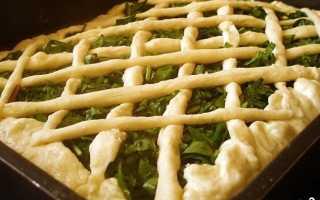 Сладкий пирог со щавелем – рецепт пошаговый с фото