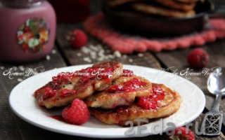 Оладьи из геркулеса и творога – рецепт пошаговый с фото