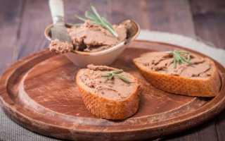 Паштет из печени с сыром – рецепт пошаговый с фото
