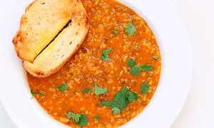 Вегетарианский суп-пюре из крупы маш и орегано – рецепт пошаговый с фото