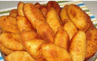 Сладкие жареные пирожки с творогом – рецепт пошаговый с фото