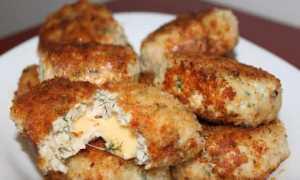 Ромштекс из куриной грудки с сыром – рецепт пошаговый с фото