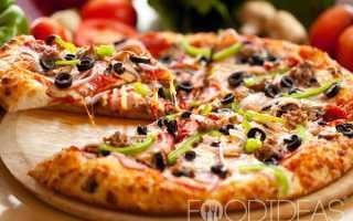 Пицца Колбасное ассорти в домашних условиях – рецепт пошаговый с фото