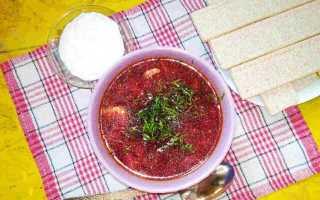 Борщ со свежей капустой, свининой и курицей – рецепт пошаговый с фото