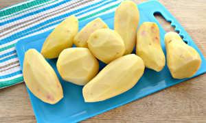 Нежное картофельно-свекольное пюре со сметаной – рецепт пошаговый с фото