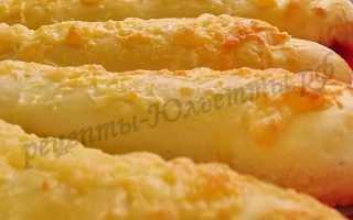Сырные дрожжевые палочки – рецепт пошаговый с фото