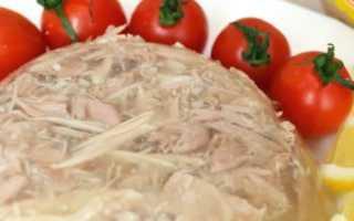 Холодец из курицы, индейки и говядины – рецепт пошаговый с фото