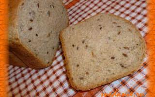 Хлеб пшенично-ржаной с семечками и псиллиумом – рецепт пошаговый с фото
