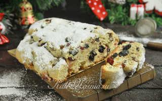 Рождественский творожный штоллен – рецепт пошаговый с фото