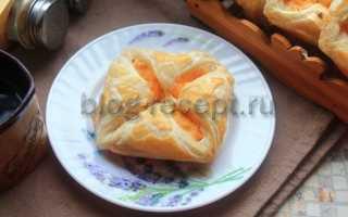 Хачапури из слоеного теста – рецепт пошаговый с фото