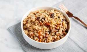 Плов из красного риса с курицей – рецепт пошаговый с фото