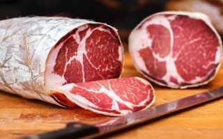 Рулетики из сырокопченой свиной шейки – рецепт пошаговый с фото