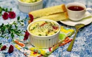 Яичница с фасолью и зеленым горошком в мультиварке – рецепт пошаговый с фото
