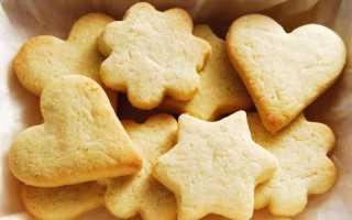 Классическое песочное печенье – рецепт пошаговый с фото