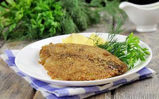 Жаренное филе морского языка – рецепт пошаговый с фото