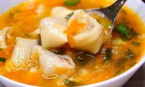 Суп с мясными рулетиками из теста – рецепт пошаговый с фото