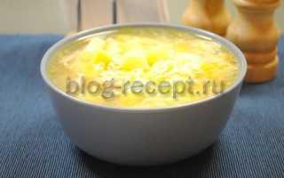 Куриный суп с вермишелью, молодым картофелем и зеленью – рецепт пошаговый с фото