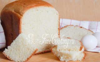 Яичный хлеб в хлебопечке – рецепт пошаговый с фото