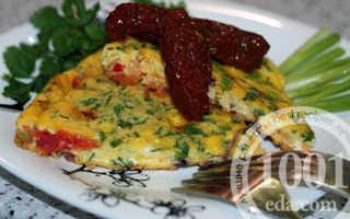 Рулеты из омлета с брынзой и помидорами – рецепт пошаговый с фото