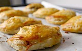 Слойки с сыром – рецепт пошаговый с фото