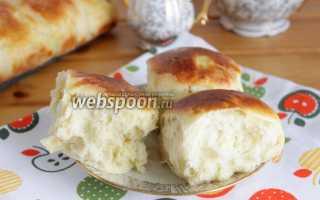 Булочки с консервированными ананасами – рецепт пошаговый с фото