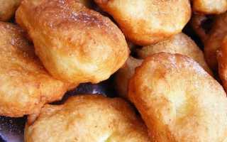 Жареные пончики на молоке – рецепт пошаговый с фото