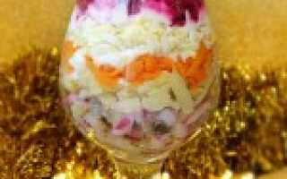 Праздничный салат с сальдью и вареными овощами – рецепт пошаговый с фото