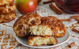 Творожное печенье с яблоками – рецепт пошаговый с фото