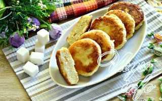 Домашние сырники с ванильным сахаром – рецепт пошаговый с фото