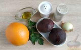 Салат из свеклы с апельсином – рецепт пошаговый с фото