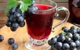 Дачный компот с виноградом, яблоками и малиной – рецепт пошаговый с фото