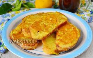 Гренки на завтрак с плавленым сыром и огурцом – рецепт пошаговый с фото