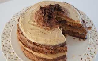 Кофейный крем для торта или бисквита – рецепт пошаговый с фото