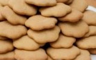 Нежное печенье Минутное дело – рецепт пошаговый с фото