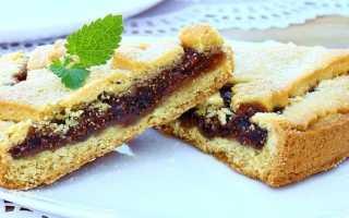 Быстрый пирог с вареньем – рецепт пошаговый с фото