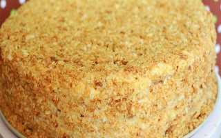 Торт Наполеон классический – рецепт пошаговый с фото