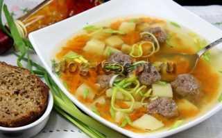 Картофельный суп с фрикадельками в мультиварке – рецепт пошаговый с фото