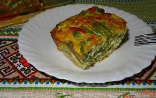 Стручковая фасоль с яйцами запечённая в духовке – рецепт пошаговый с фото
